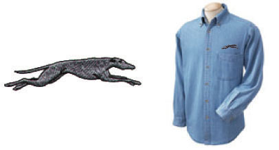 E-7 - Stretch Hound Denim Shirt (E7)