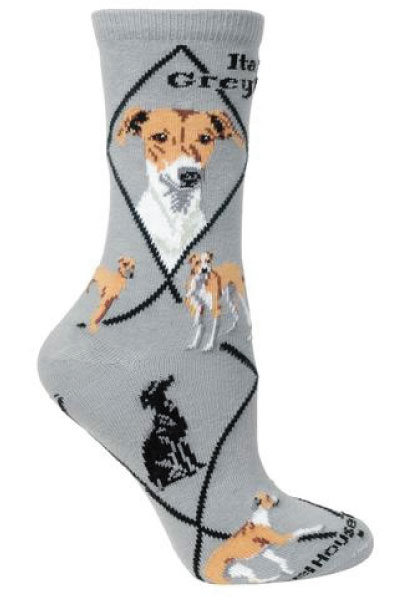 S13 - Italian Greyhound Socks