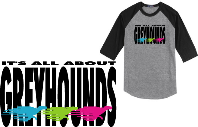 P-25 - It's All About Greyhounds Jersey