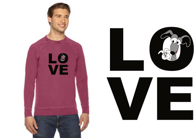 AP205 - LOVE Sweatshirt