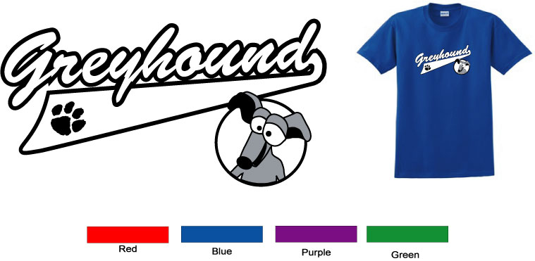 P-7 - Tailor Greyhound Toddler TShirt
