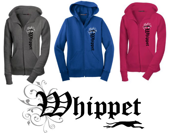 RW-3 - Whippet Olde English Hoodie