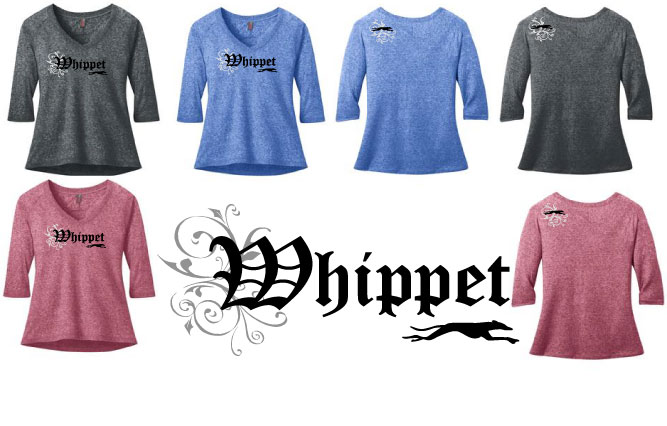 RW-3 - Whippet Olde English Raglan Tee