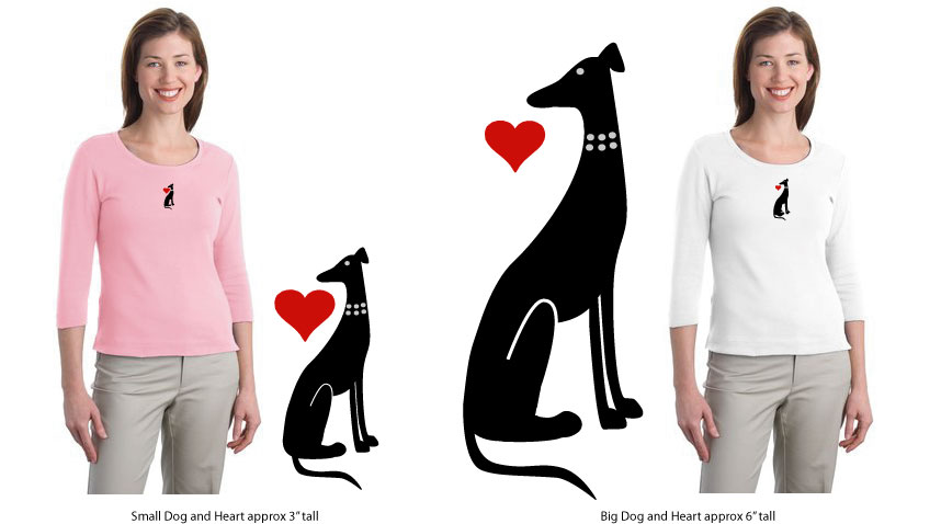 R-15 - Collar Dog and Heart