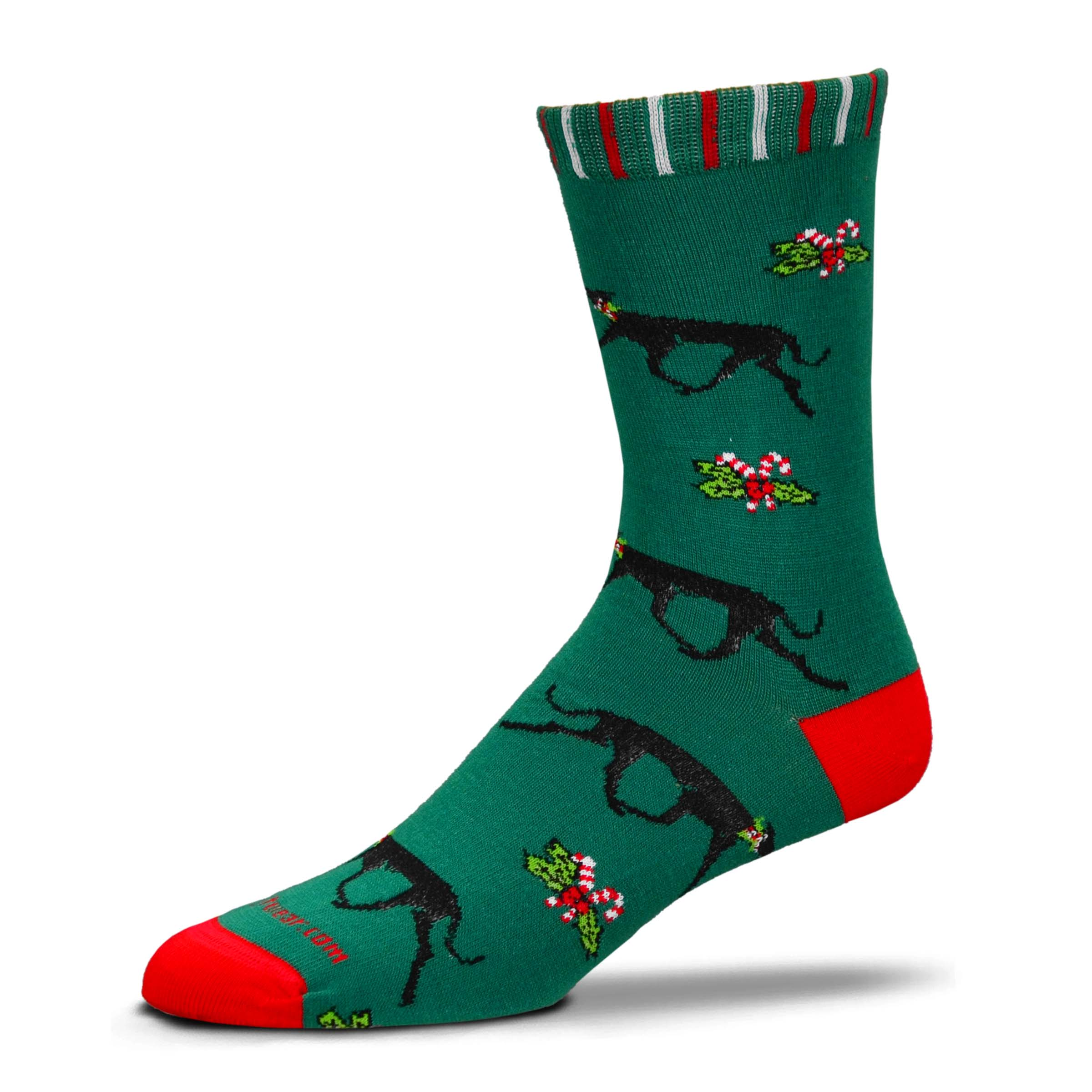 S6 - Holly Dog Socks
