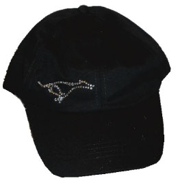 R-4 - Crystal Greyhound on Cap