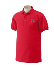 E-11 - Brindle Greyhound Polo Shirt (E11)