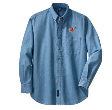 E-6 - Racing Dog Denim Shirt (E6)