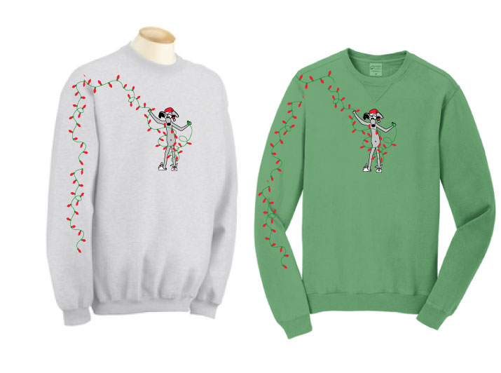 HOL-2 - Holiday Lights Sweatshirt