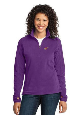L-224 - Ladies Microfleece 1/4 Zip Pullover (L224)