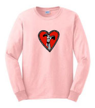 V-3 - My Heart Belongs to ROO! Long Sleeve T-Shirt