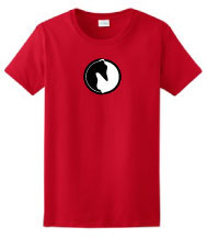 P-10 - Yin Yang Greyhound Ladies T-Shirt (P10)