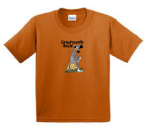 P-2 - Greyhounds Rock Youth T-Shirt