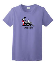 P-36 - Life is Greyt Ladies T-Shirt (P36)