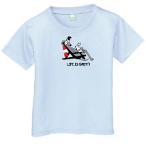 P-36 - Life is Greyt Toddler T-Shirt (P36)