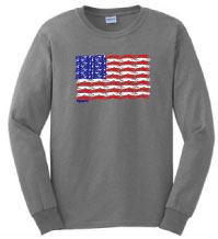 PT-2 - Flag Dogs Long Sleeve T-Shirt