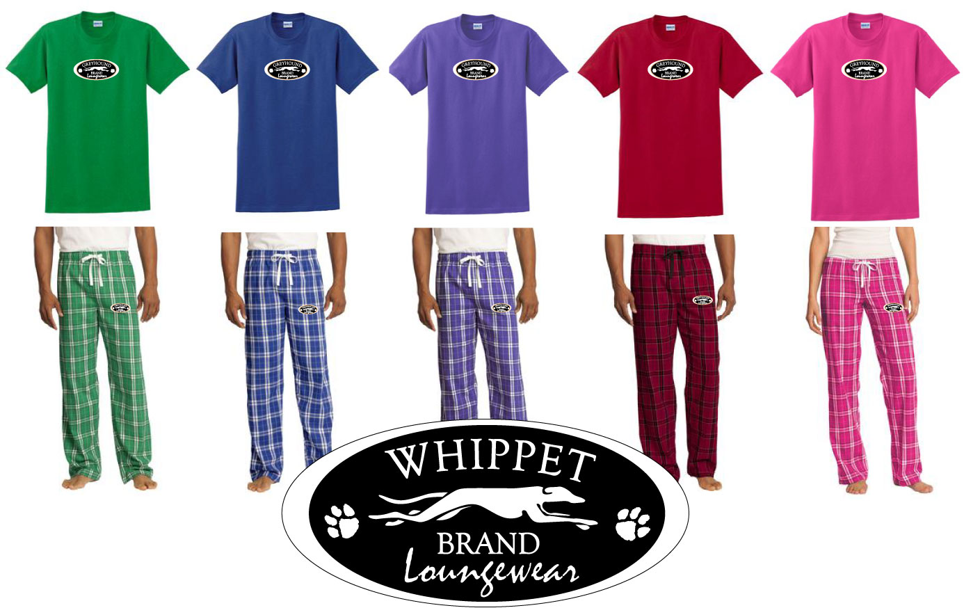 WPT - Whippet Brand Jammies (WPT2)